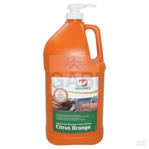 Emulsja do mycia rąk Dreumex Citrus Orange 3,79 l + pompka