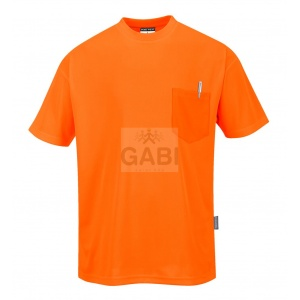 T-shirt Day-Vis z kieszonką S578 PORTWEST